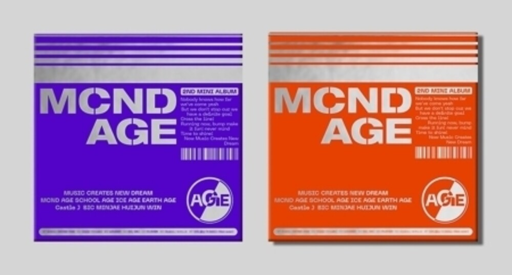 Mcnd - Mcnd Age (Random Cover) (Post) [With Booklet] (Pcrd) (Phot)