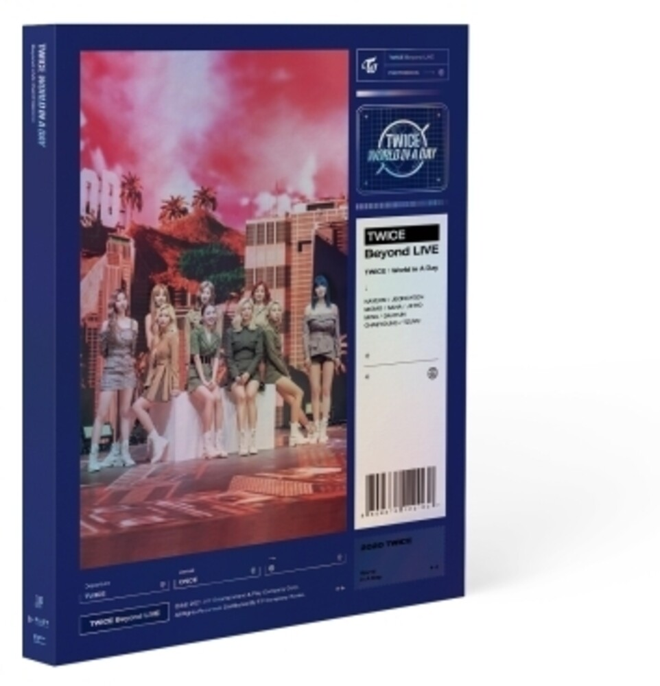 Twice - Beyond Live / Twice: World in a Day Photobook (128pg Photobook w/ 10ocPhotocard Set)
