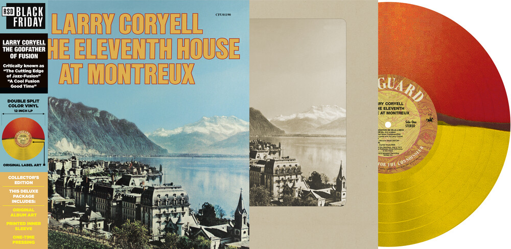 Larry Coryell & Eleventh House - At Montreux (Red Translucent & Yellow Translucent)