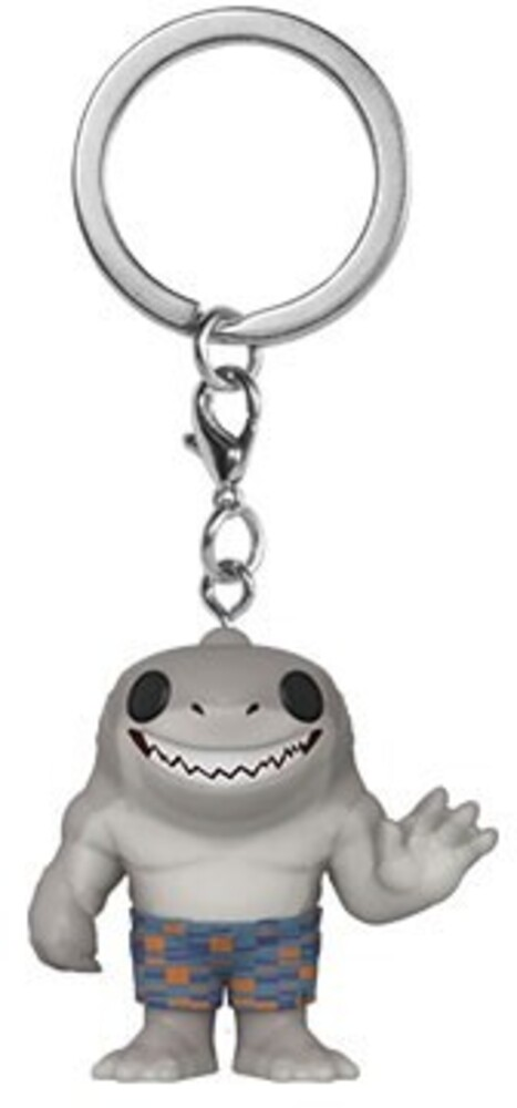 - FUNKO POP! KEYCHAIN: The Suicide Squad- King Shark