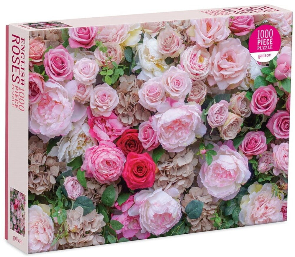 - English Roses 1000 Piece Puzzle