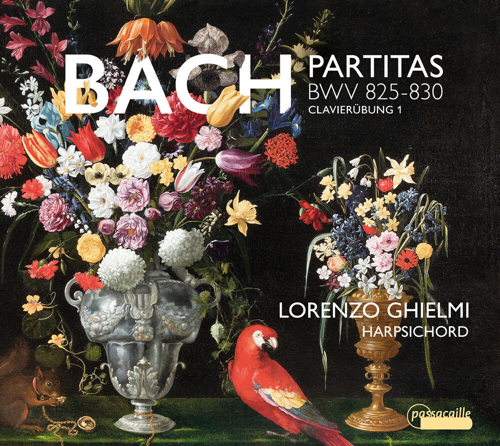 J Bach .S. / Ghielmi - Partitas BWV 825-830