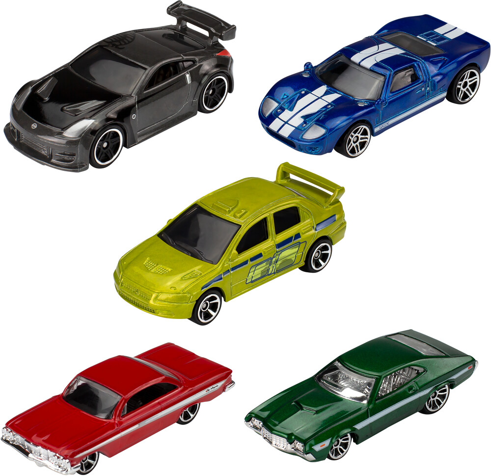 - Mattel - Hot Wheels Fast And Furious 5-Pack
