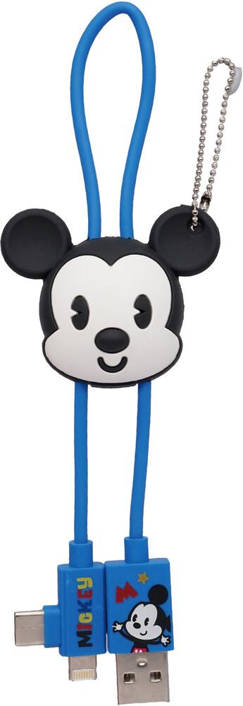 - Disney Mickey Retro 3d Foam Usb Cable Bag Clip