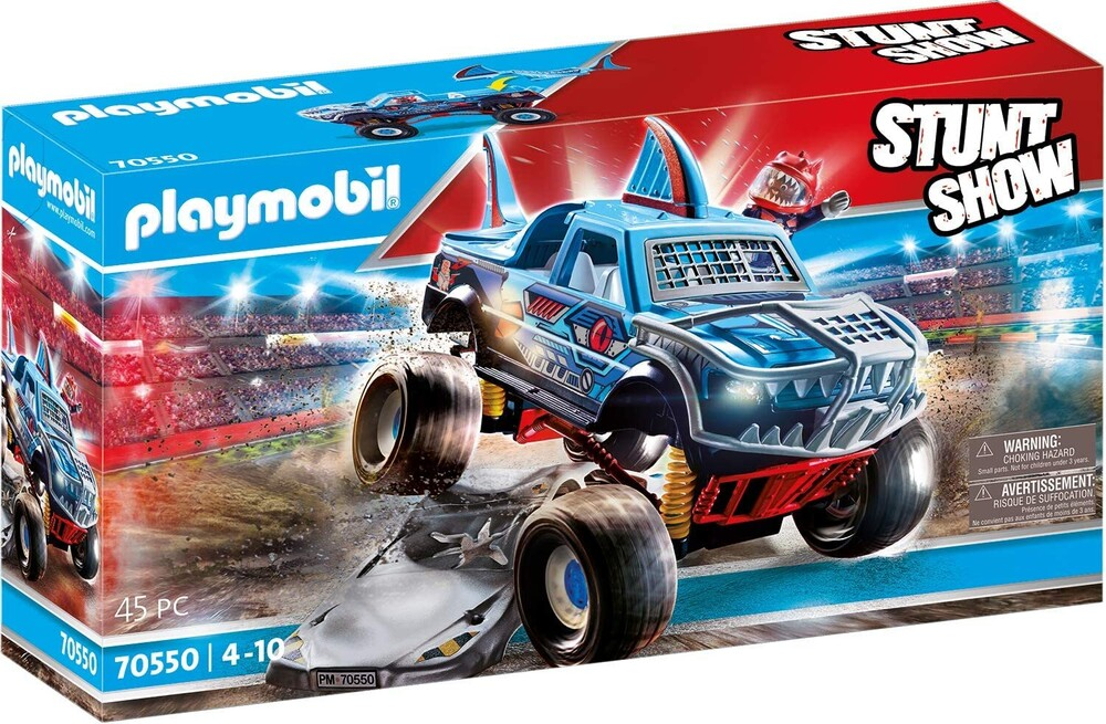 - Stunt Show Shark Monster Truck (Fig)