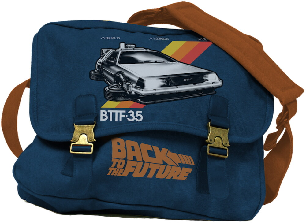 - Btff-35 Back To The Future Delorean Logo Mailbag