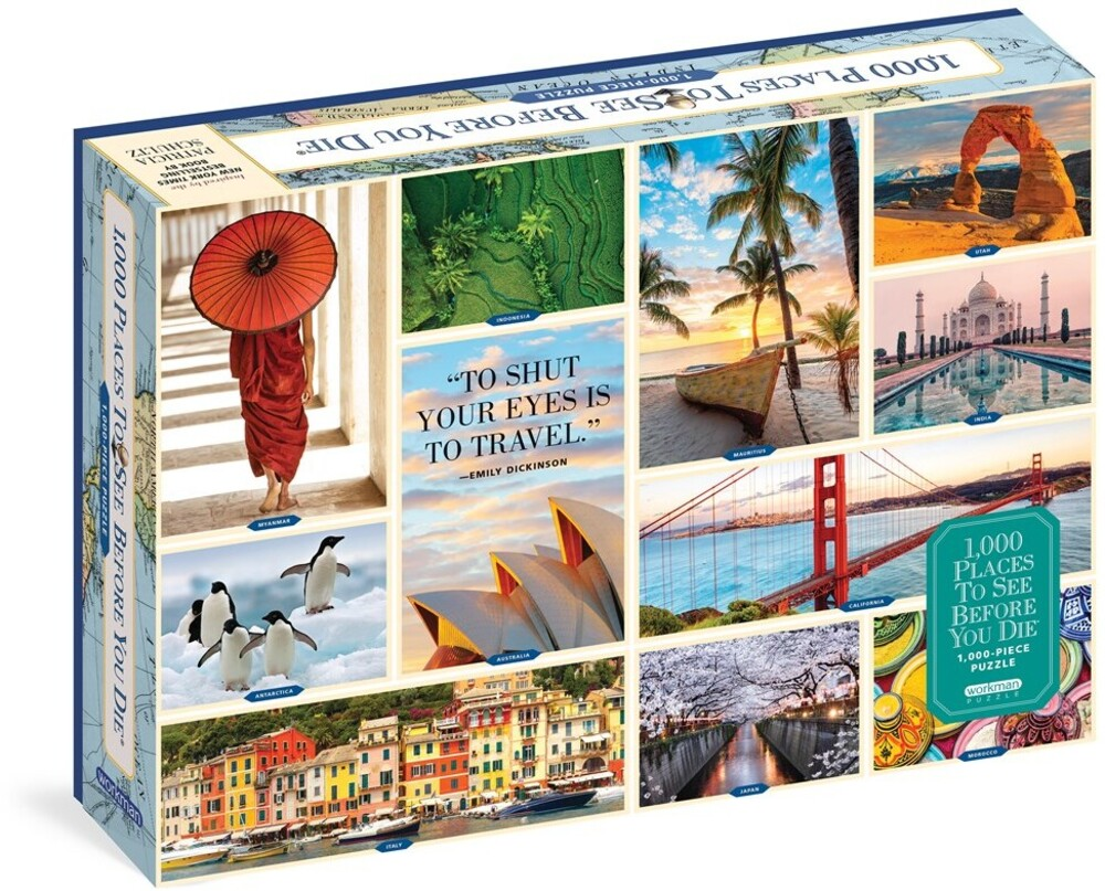 - 1000 Places To See Before You Die 1000 Piece