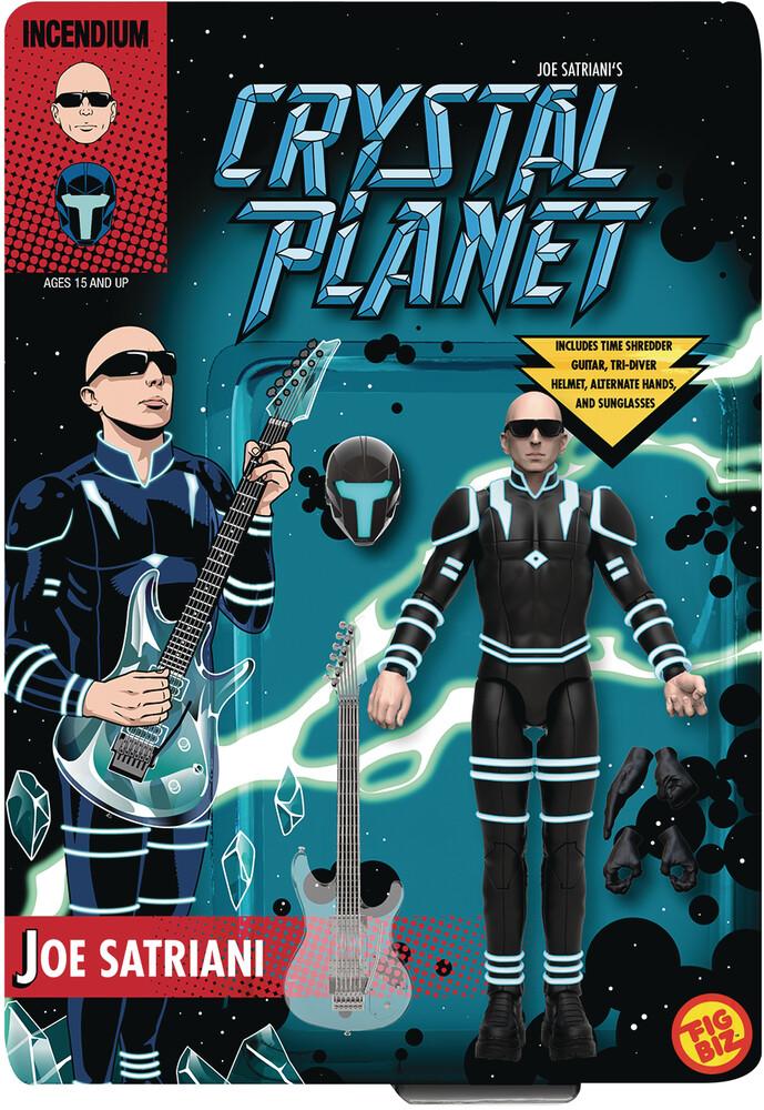 - Joe Satriani Crystal Planet Figbiz Action Figure
