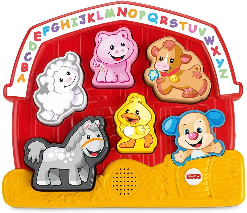 Laugh N Learn - Laugh N Learn Learning Puzzle Farm Animals