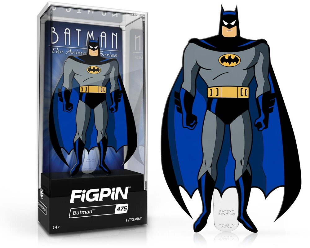 Figpin Batman Animated Series Batman #475 - Figpin Batman Animated Series Batman #475 (Clcb)