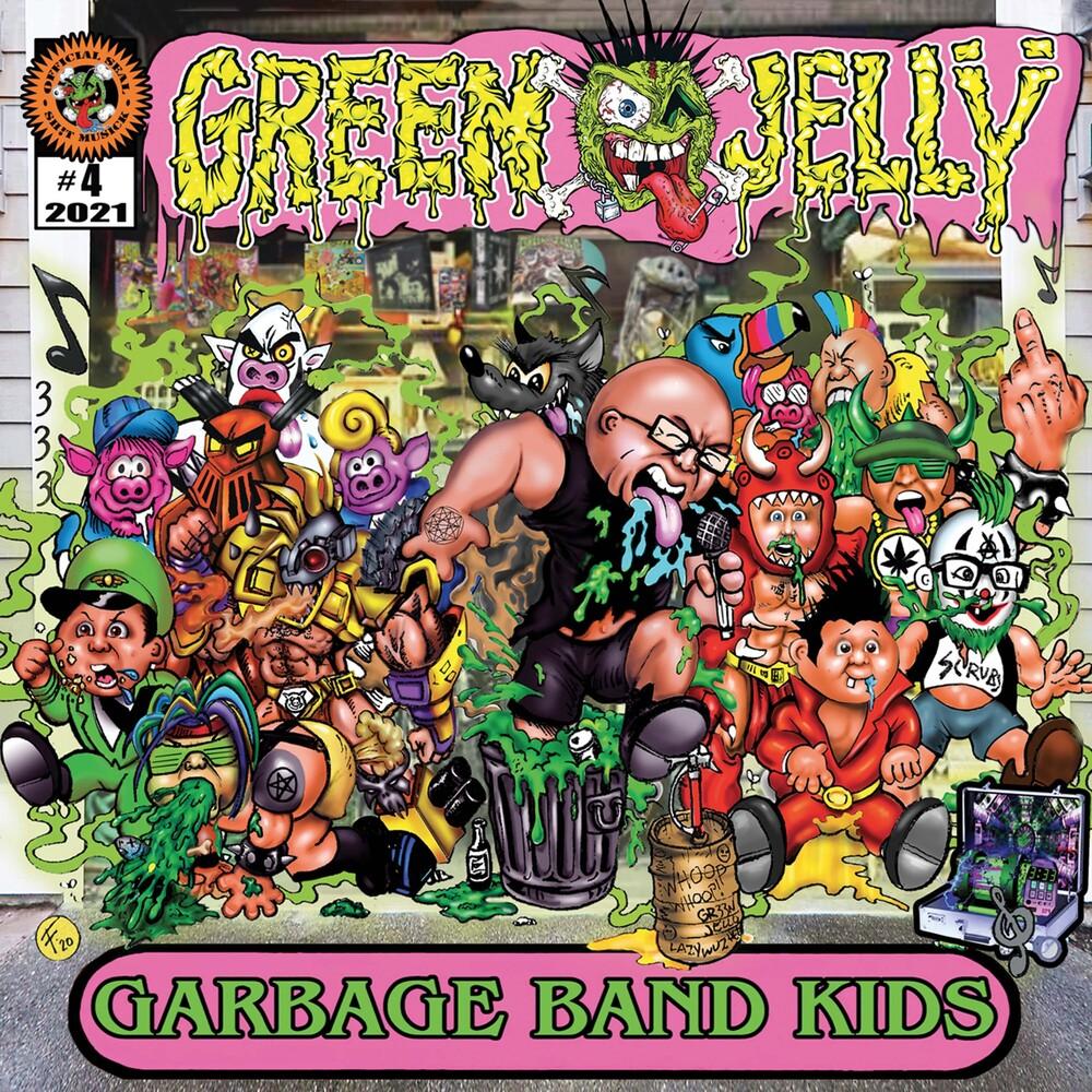 Green Jelly - Garbage Band Kids (Green & Yellow Splatter Vinyl)