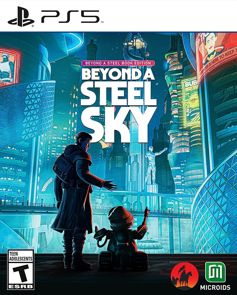 Ps5 Beyond Steel Sky: Steelbook Ed - Ps5 Beyond Steel Sky: Steelbook Ed
