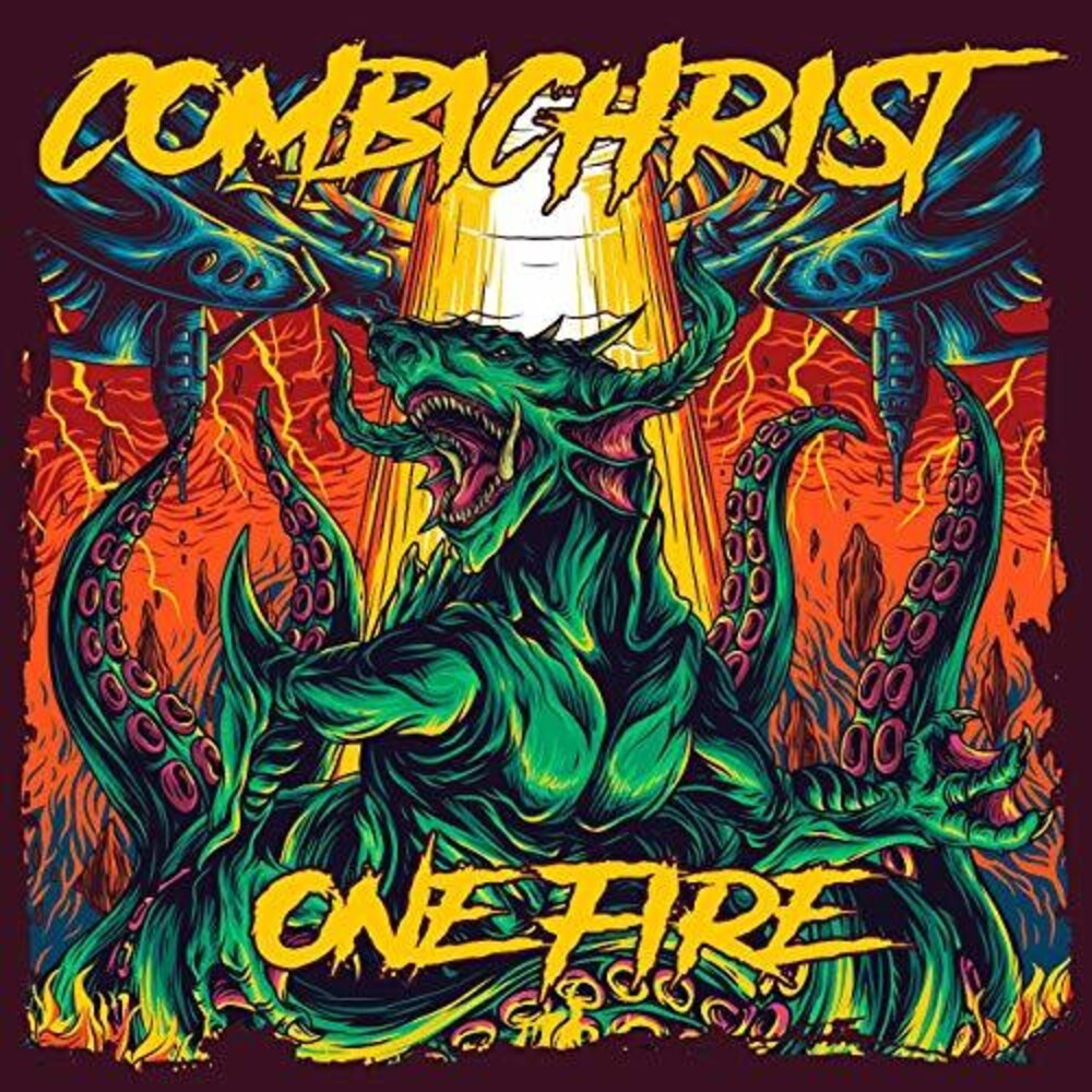Combichrist - One Fire [Limited Picture Disc / Orange 2LP]