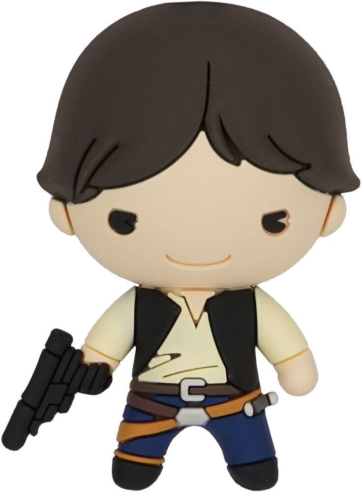 Han Solo 3D Foam Magnet - Han Solo 3D Foam Magnet
