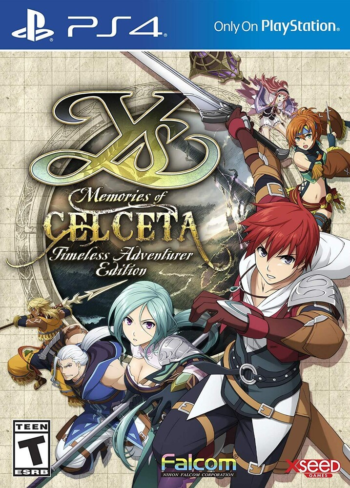 - Ys: Memories Of Celceta - Timeless Adventure