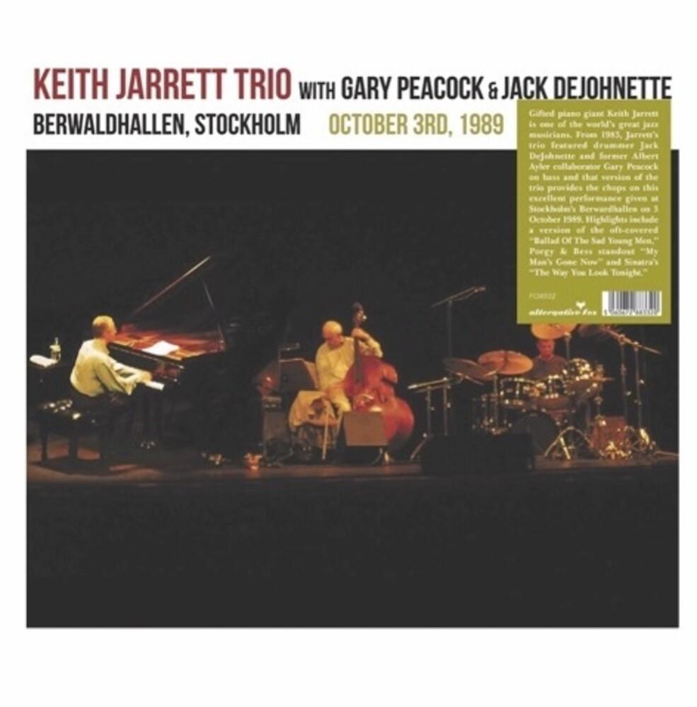 Keith Jarrett - Berwardhallen, Stockholm October 3rd 1989 (2pk)
