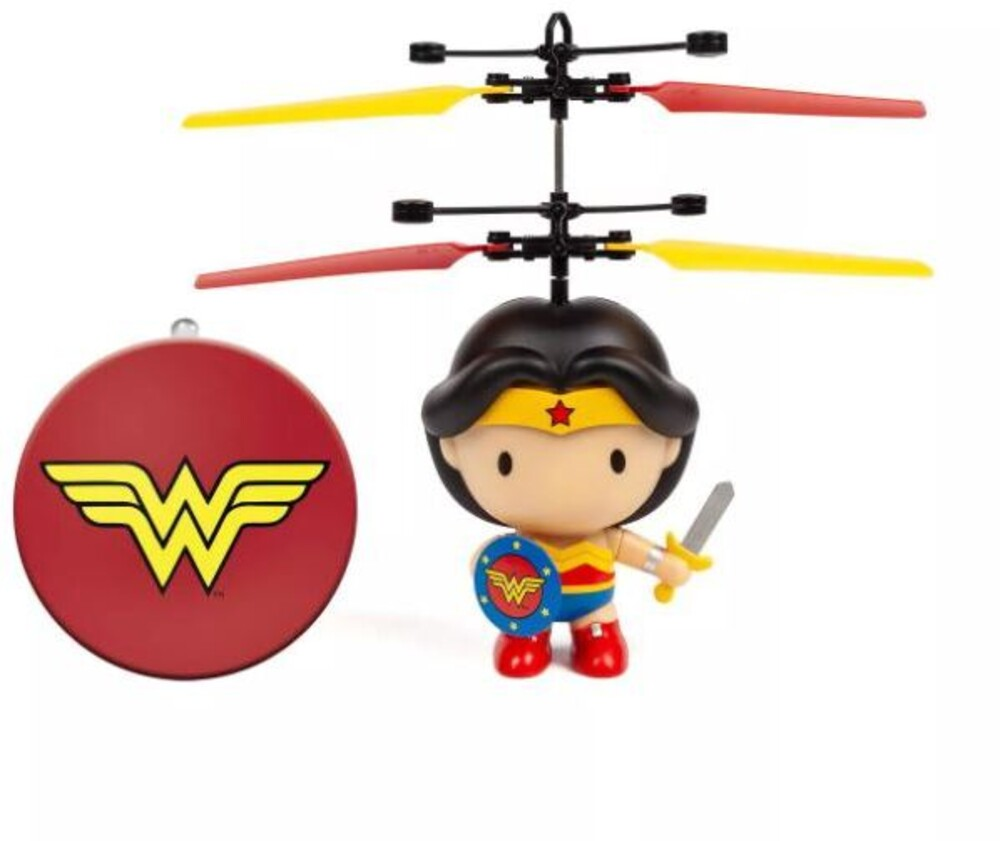 - DC Wonder Woman 3.5 Inch Flying Character UFO Helicopter (DC, Wonder Woman)