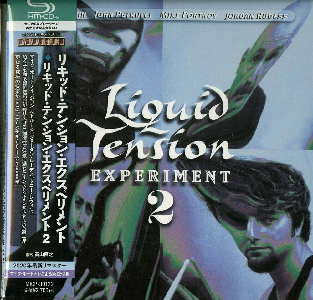 Liquid Tension Experiment - Liquid Tension Experiment 2 (SHM-CD / Paper Sleeve)