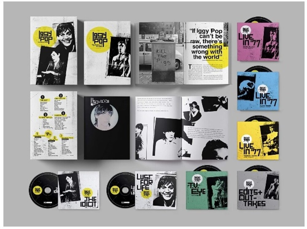 Iggy Pop - The Bowie Years [7-CD Box Set]