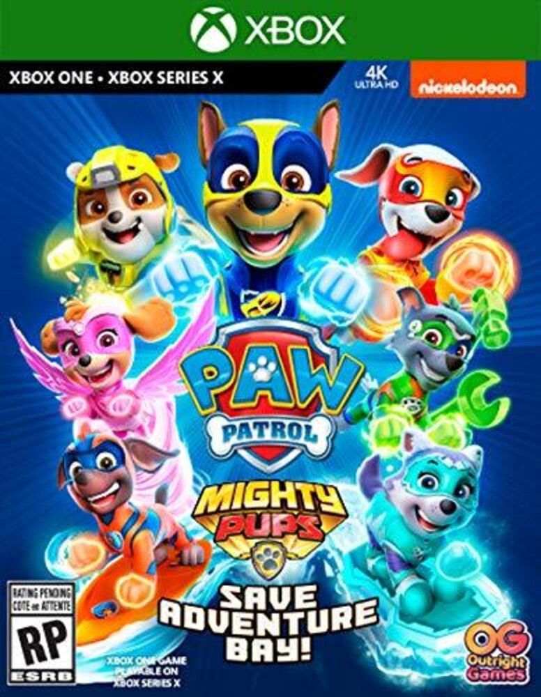 - Xb1 Paw Patrol Mighty Pups Save Adventure Bay