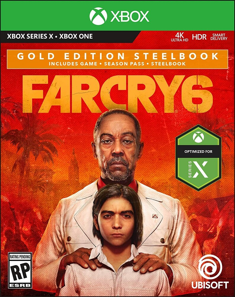 Xb1 Far Cry 6 Steelbook Gold Ed - Xb1 Far Cry 6 Steelbook Gold Ed (Stbk)