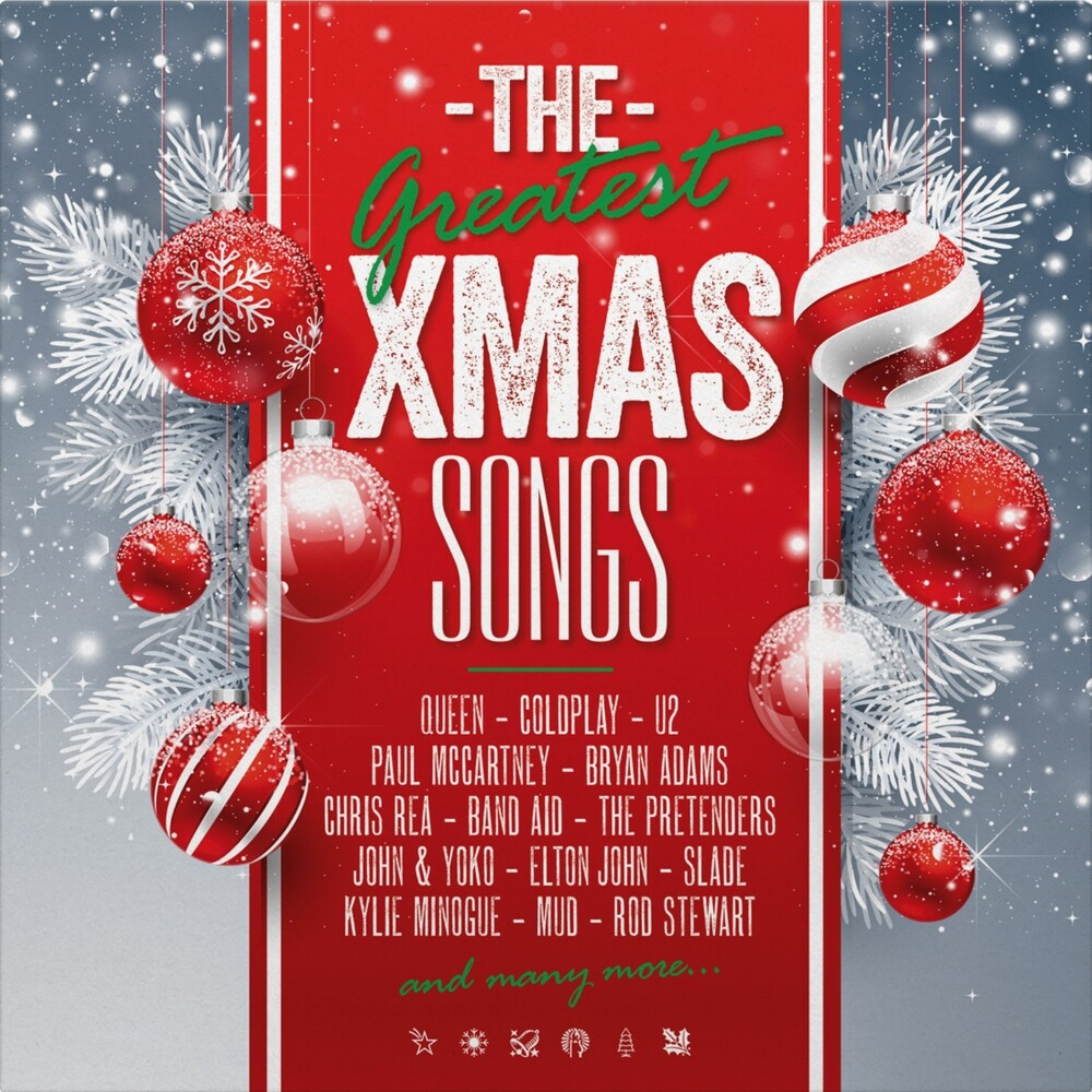 Greatest Christmas Songs / Various Grn Ltd - Greatest Christmas Songs (Green & Red Vinyl) / Var