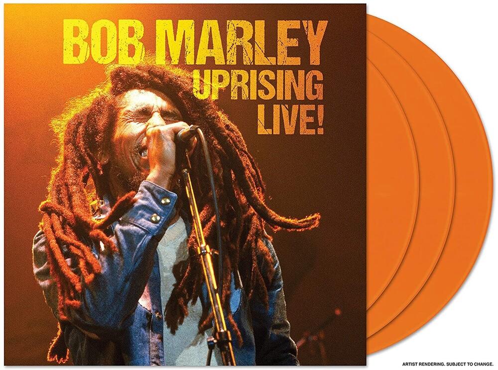Bob Marley - Uprising Live! (Live From Westfalenhallen, 1980) [Limited Edition Orange 3LP]