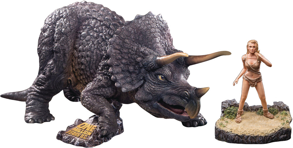 Star Ace Toys - Star Ace Toys - One Million Years Bc Triceratops & Loana Soft VinylStatue (Net)