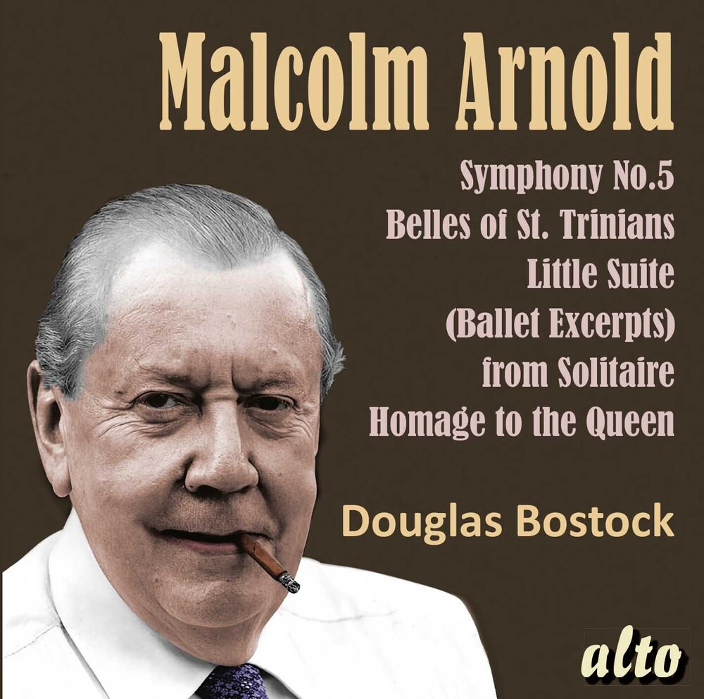 Douglas Bostock / Munich Philharonic Orchestra - Malcolm Arnold Sym 5 : Belles Of St. Trinians