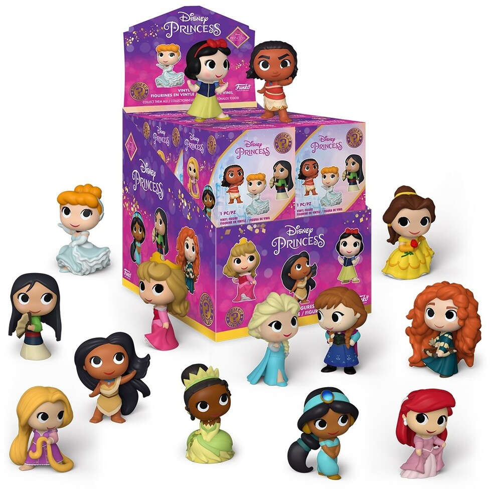 - FUNKO MYSTERY MINI: Ultimate Princess (One Mini Per Purchase)