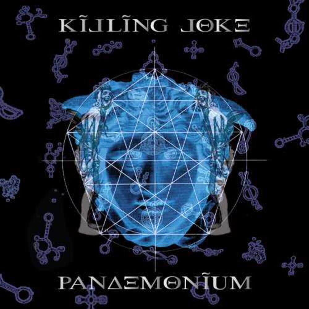 Killing Joke - Pandemonium [Blue/Ultraclear 2LP]