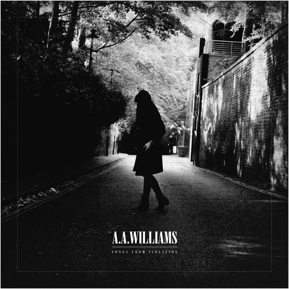 A Williams A - Songs From Isolation (Black & White Splattered Vinyl)