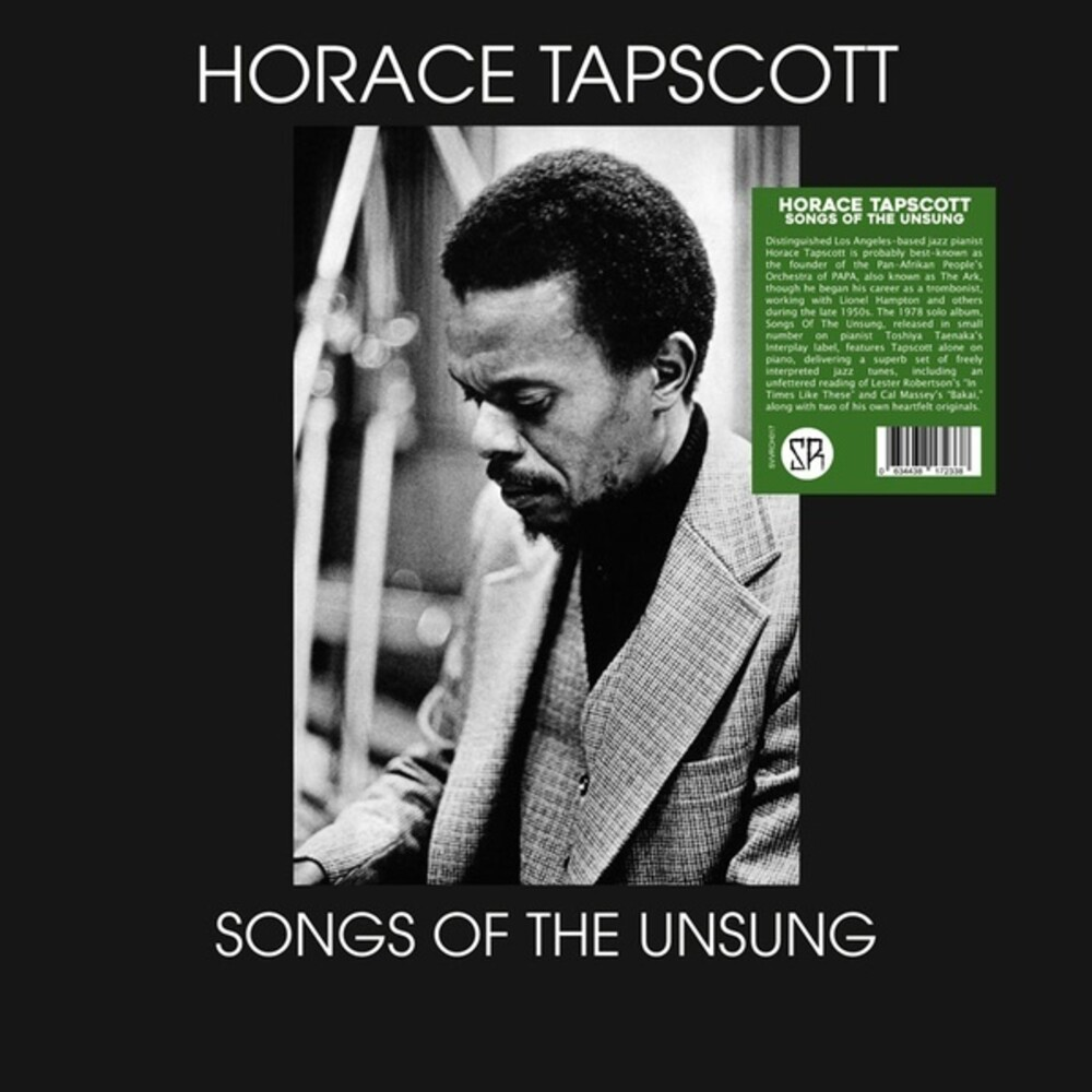 Horace Tapscott - Songs Of The Unsung