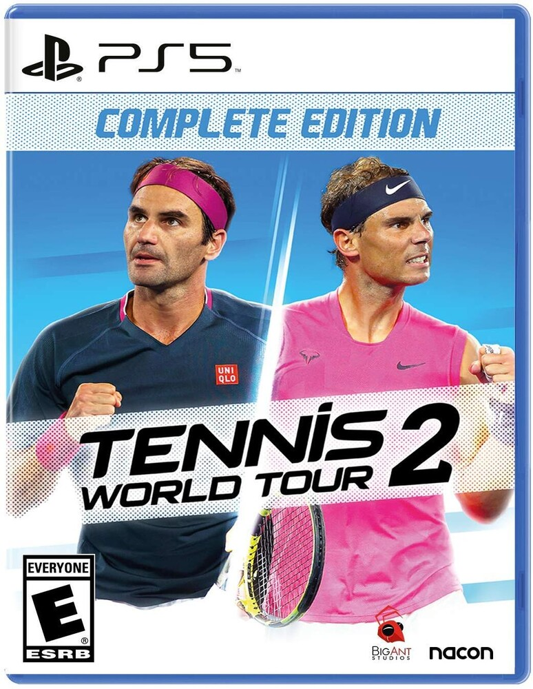 Ps5 Tennis World Tour 2 - Tennis World Tour 2 for PlayStation 5