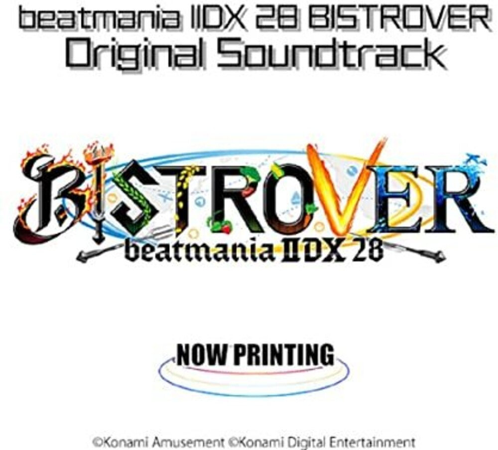 Game Music (Jpn) - Beatmania 2Dx 28 Bistrover (Original Soundtrack)