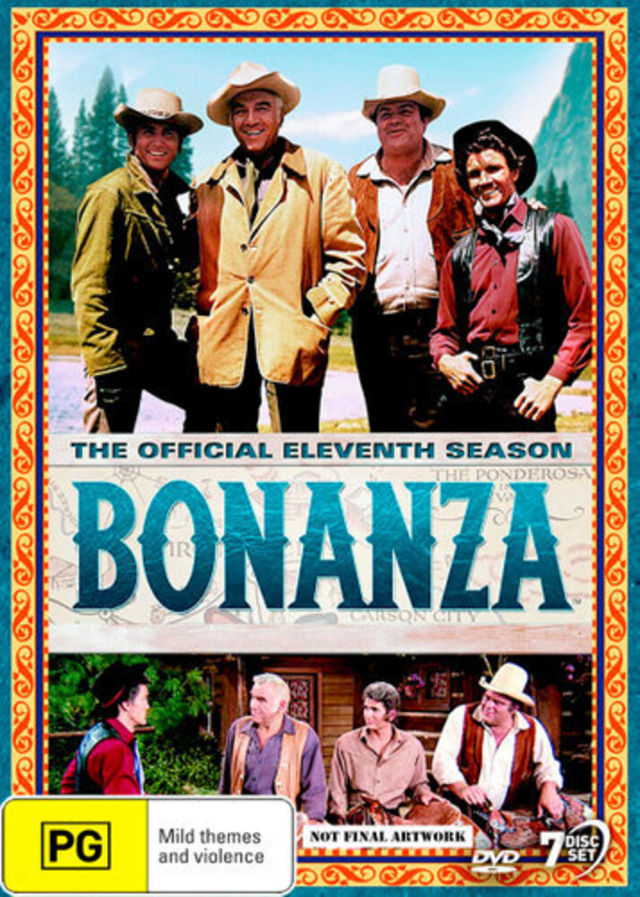 Bonanza: The Official 11th Season - Bonanza: The Official 11th Season (7pc) / (Aus)