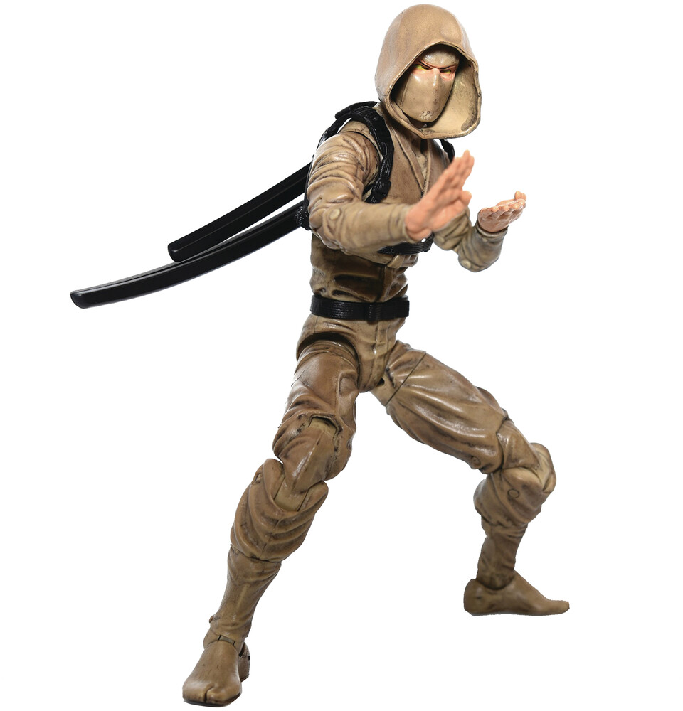 Fwoosh - FWOOSH - Articulated Icons Clan Of The Desert Sun Ninja 6 ActionFigure (Net)