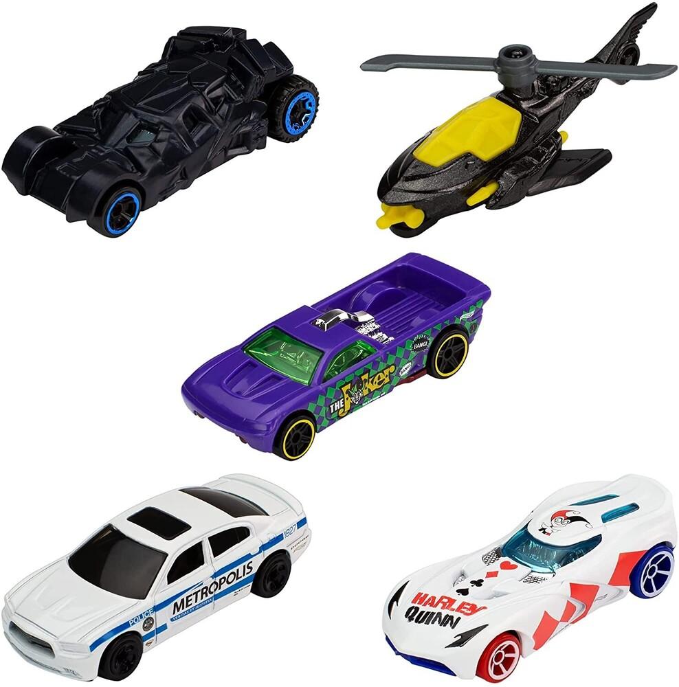 Hot Wheels - Mattel - Hot Wheels Batman 5-Pack