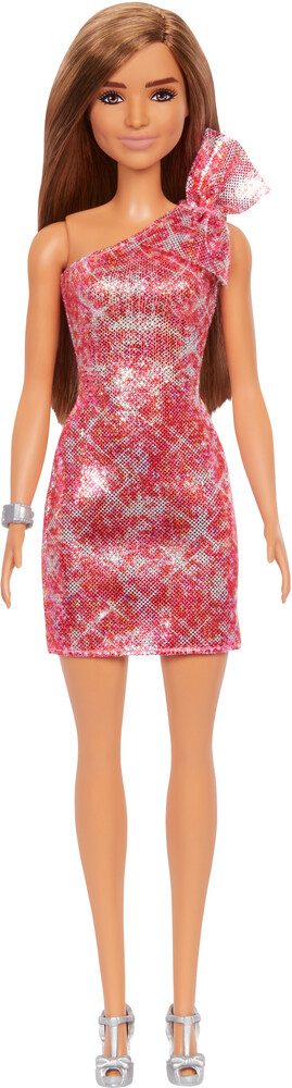 - Mattel - Barbie Glitz Doll, Off Shoulder Gown