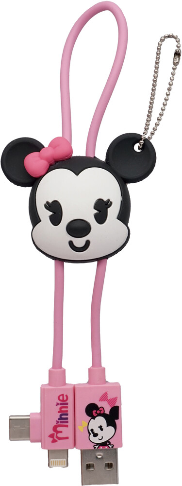 - Disney Minnie Retro 3d Foam Usb Cable Bag Clip