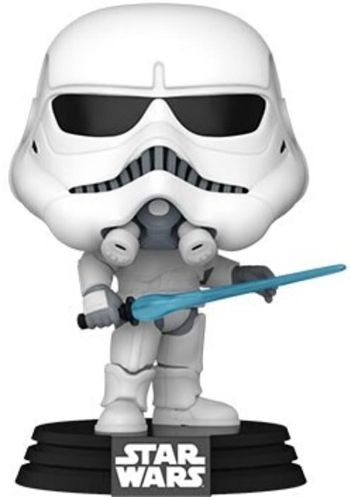 Funko Pop! Star Wars: - Concept Series- Stormtrooper (Vfig)