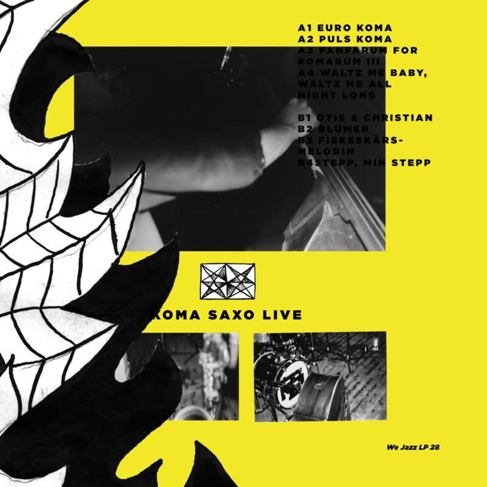 Petter Eldh  / Saxo,Koma - Live [Colored Vinyl] (Slv)