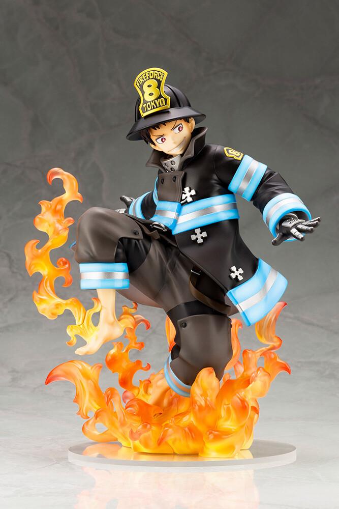 - Fire Force - Artfx J Shinra Kusakabe (Clcb) (Stat)