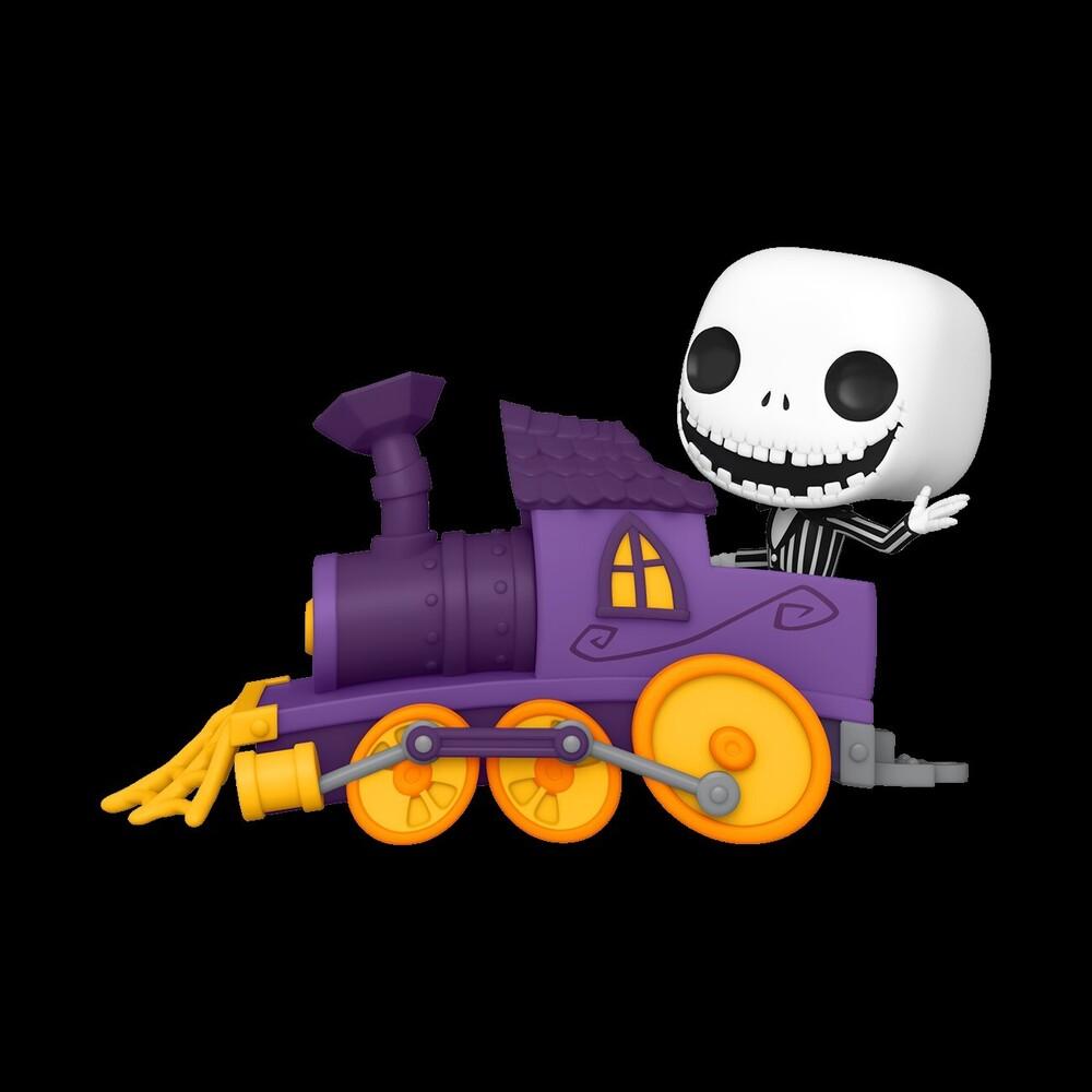 Funko Pop! Train Deluxe: - Nightmare Before Christmas- Jack In Train Engine