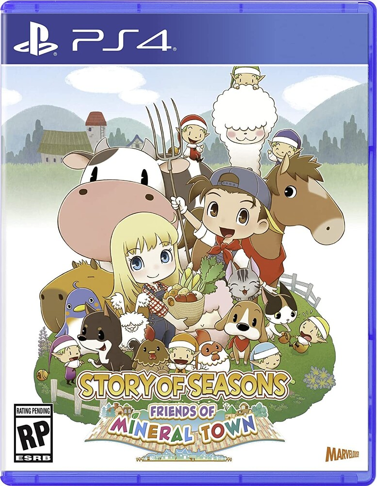 Ps4 Story of Seasons: Friends of Mineral Town - Ps4 Story Of Seasons: Friends Of Mineral Town