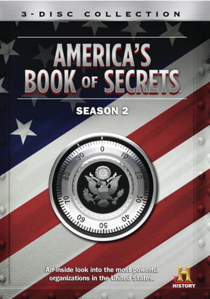 America's Book of Secrets: Season 2 - America's Book Of Secrets: Season 2 (3pc) / (Mod)
