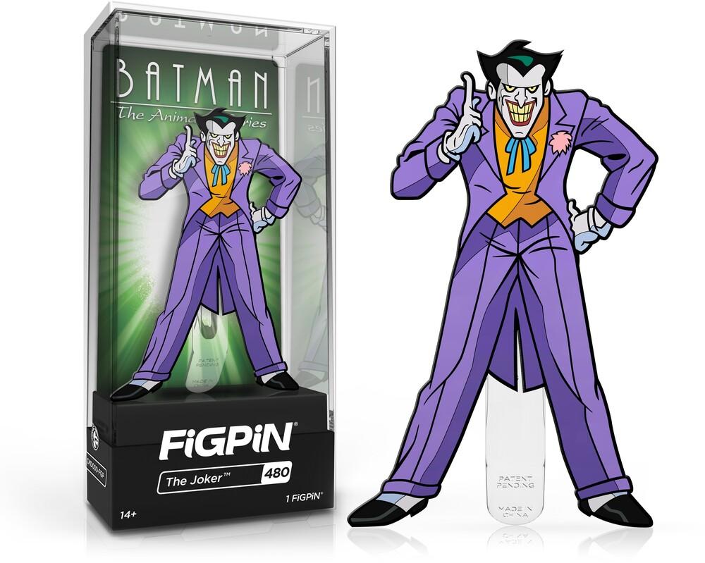Figpin Batman Animated Series Joker #480 - Figpin Batman Animated Series Joker #480 (Clcb)