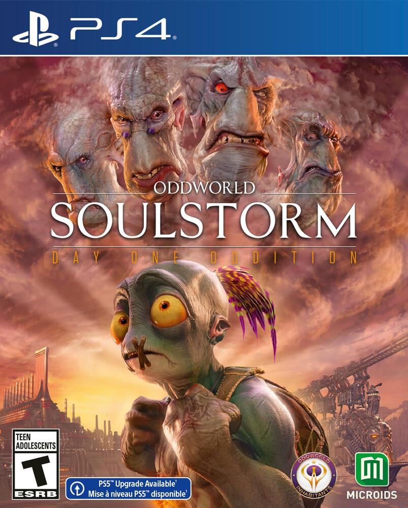 Ps4 Oddworld: Soulstorm - Standard Ed - Ps4 Oddworld: Soulstorm - Standard Ed