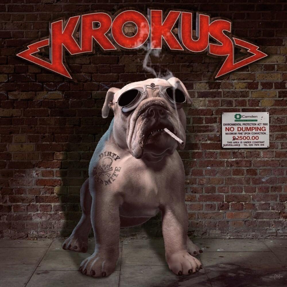Krokus - Dirty Dynamite [Limited Gaefold, 180-Gram Transparent Red Colored Vinyl]