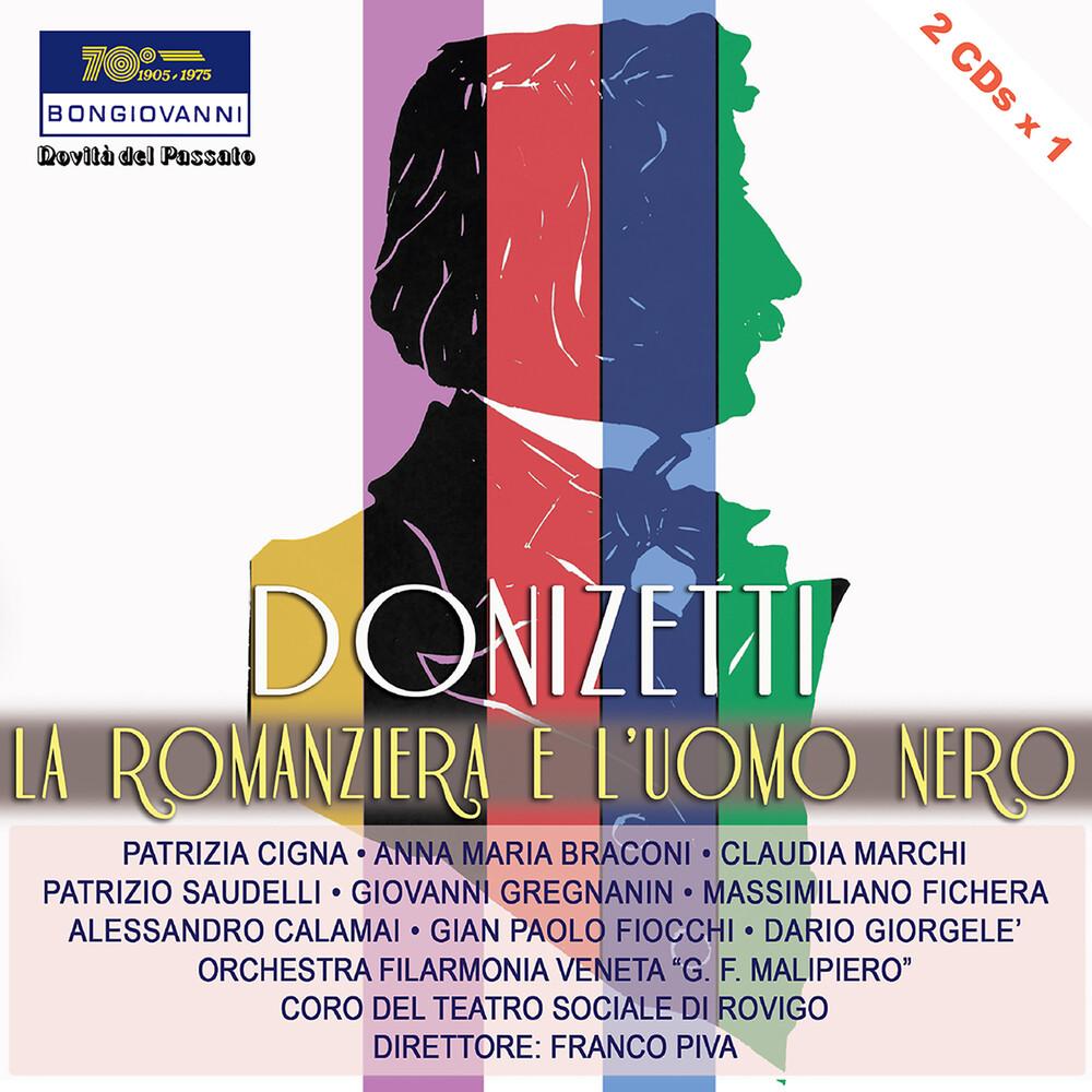 Donizetti - Romanziera E L'uomo Nero (2pk)